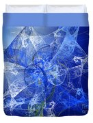 Sapphire In Blue Lace Duvet Cover