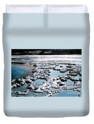 Sapphire Pool Yellowstone National Park Duvet Cover