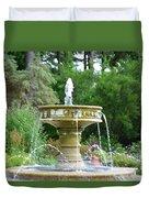 Sarah Lee Baker Perennial Garden 6 Duvet Cover