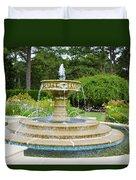 Sarah Lee Baker Perennial Garden 7 Duvet Cover