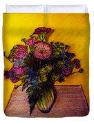 Sarah's Sweet 16 Flowers Duvet Cover