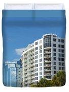 Sarasota Architecture 1 Duvet Cover