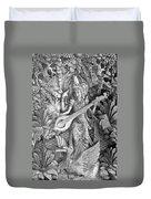 Saraswati - Supreme Goddess Duvet Cover