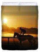 Saratoga Sunrise  Duvet Cover