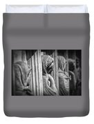 Sarcophagus Of The Crying Women Duvet Cover by Taylan Apukovska