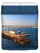 Sardinia - Porto Torres Duvet Cover