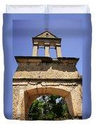 Sassia Monastery Bell Tower Duvet Cover