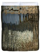 Satin Silk And Moire Abstract - Vertical Duvet Cover