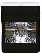 Saturn Five Rockets Duvet Cover