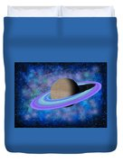 Saturn Journey Duvet Cover