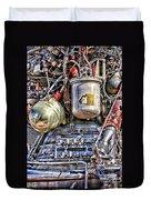 Saturn V J-2 Rocket Engine Duvet Cover