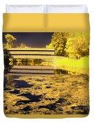Saucks Bridge - Pond Duvet Cover