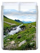 Savage River From Savage River Trail In Denali Np-ak    Duvet Cover