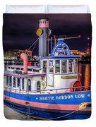 Savannah Belle Dot Ferry Duvet Cover