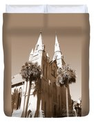 Savannah Sepia - Methodist Church Duvet Cover