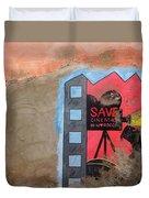 Save Cinema In Morocco Duvet Cover