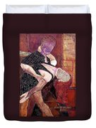 Save The Last Dance For Me Duvet Cover