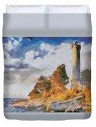 Savudrija Lighthouse Duvet Cover