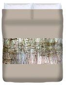 Sawgrass Swamp Panorama Duvet Cover