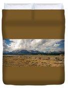 Sawtooth Range Duvet Cover by Robert Bales