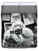 Say Abominable Duvet Cover by Scott Wyatt