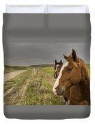Say There Duvet Cover