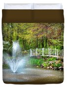 Sayen Garden Impression Duvet Cover