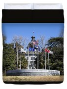 Sc Veterans Monument Duvet Cover