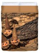 Scarecrow Cupcakes Duvet Cover