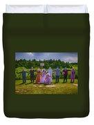 Scarecrow Wedding Duvet Cover