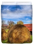 Scarecrow's Dream Duvet Cover by Debra and Dave Vanderlaan