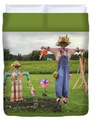 Scarecrows Duvet Cover