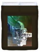 Scarf Camera In Negative Duvet Cover