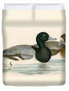 Scaup Duck Duvet Cover