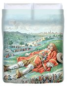 Scene From Gullivers Travels Duvet Cover