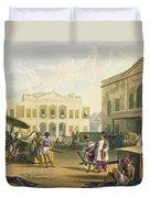 Scene In Bombay, From Volume I Duvet Cover