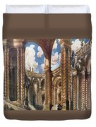 Scenery Design For The Betrothal Duvet Cover