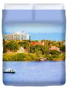 Scenes On The Water Duvet Cover