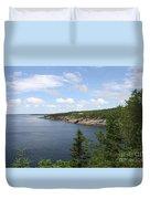 Scenic Acadia Park View Duvet Cover