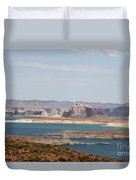 Scenic Lake Powell Duvet Cover