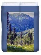 Scenic Mountain Valley Duvet Cover