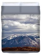 Scenic Moutains Duvet Cover
