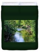 Scenic Sandusky River Duvet Cover
