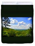 Scenic View Of So Mo Ozarks - Digital Paint Duvet Cover