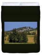 Schauenstein - A Typical Upper-franconian Town Duvet Cover