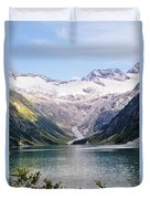 Schlegeis Dam And Reservoir  Duvet Cover