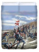 Schleswig-holstein Question. The First Schleswig War Or Three Years War 1848-1851. Fighting Duvet Cover