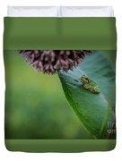 Schlitz Audubon Tree Frog Duvet Cover