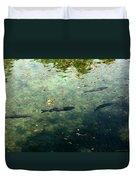 School Of Fish Duvet Cover