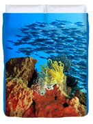 School Of Fishes Duvet Cover